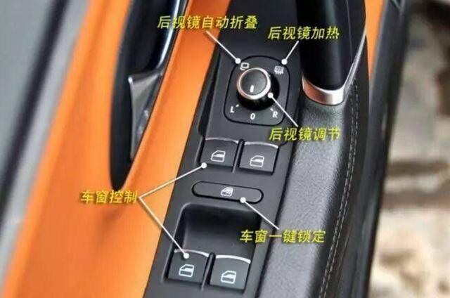汽车内部功能按键图解,老司机的知识必经之路