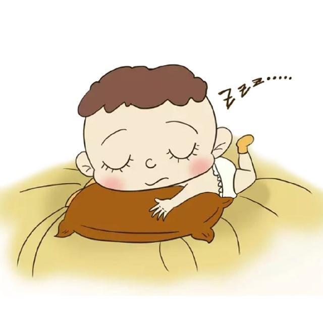 小宝宝不能有的四个睡姿,影响生长发育!图片