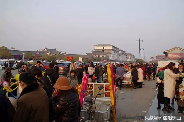 大年初一宜阳灵山风景区游客达十万余次
