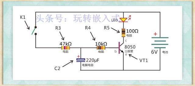 358呼吸灯电路pc图