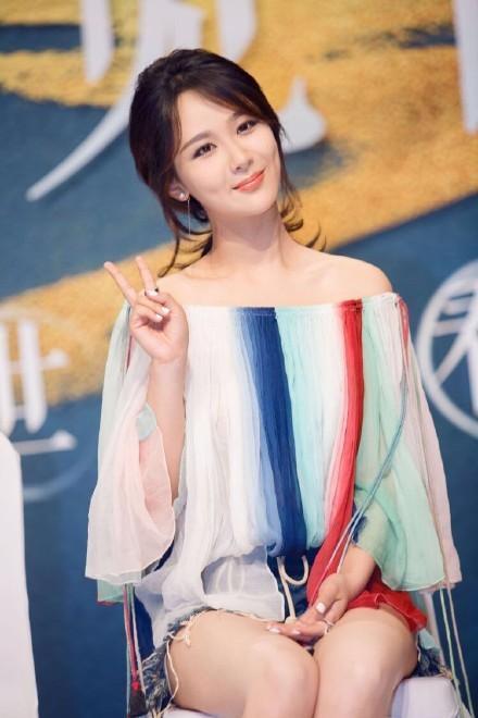 杨紫可爱萌公主
