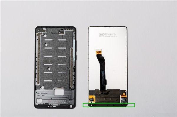 mix2s是手机目前集成度最高的下巴,如果用a屏方式更iphone通讯录v手机小米图片