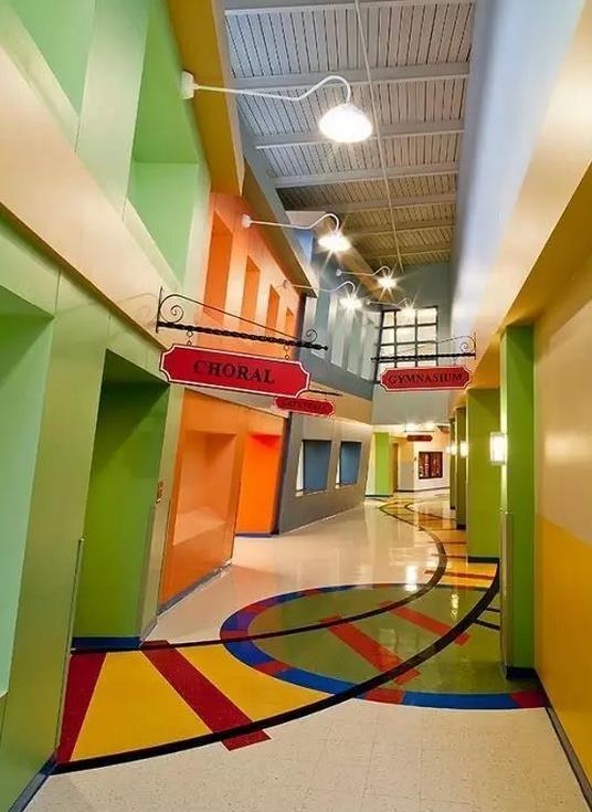 幼儿园地坪漆-幼儿园地面装饰美化了吗?