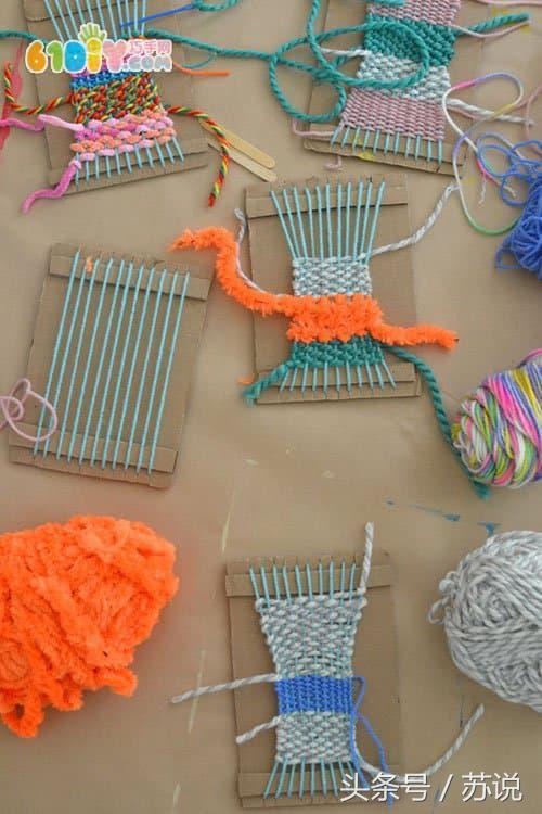 毛编织手工挂饰,幼儿园宝宝亲子手工,老师宝妈孕妈必备,快收藏