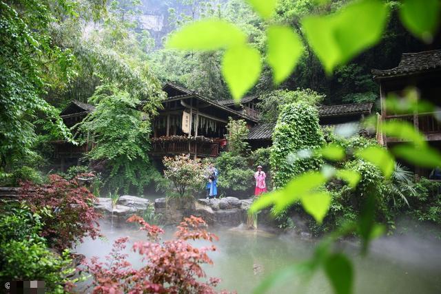 桃花源风景名胜区位于湖南省桃源县西南15公里的水溪