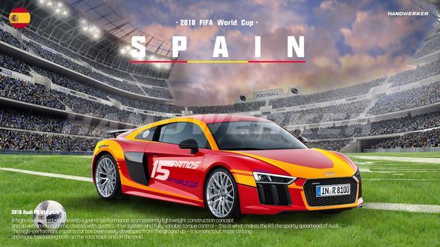 让激情肆意迸发,世界杯主题汽车定制拉花上线