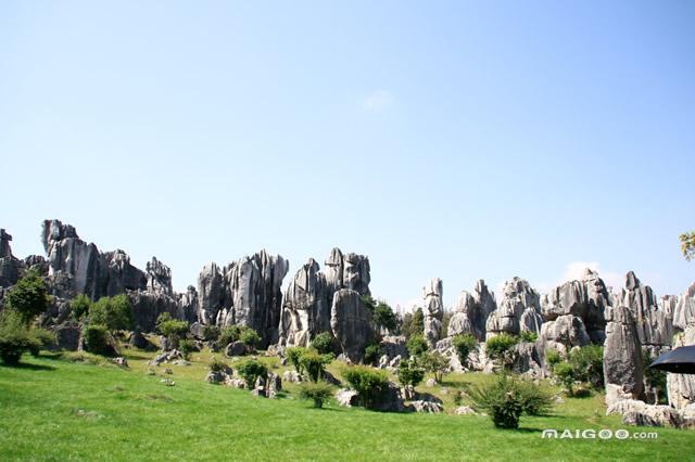 1,云南石林风景名胜区