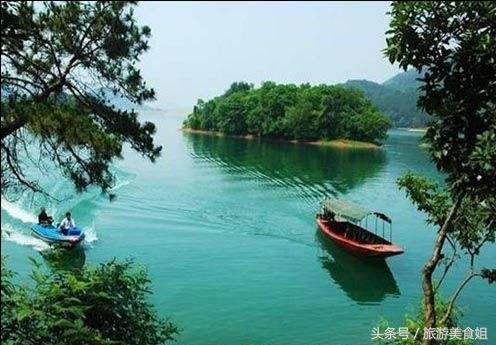 信阳市南湾湖风景区 分外妖娆 素有 豫南明珠 之称