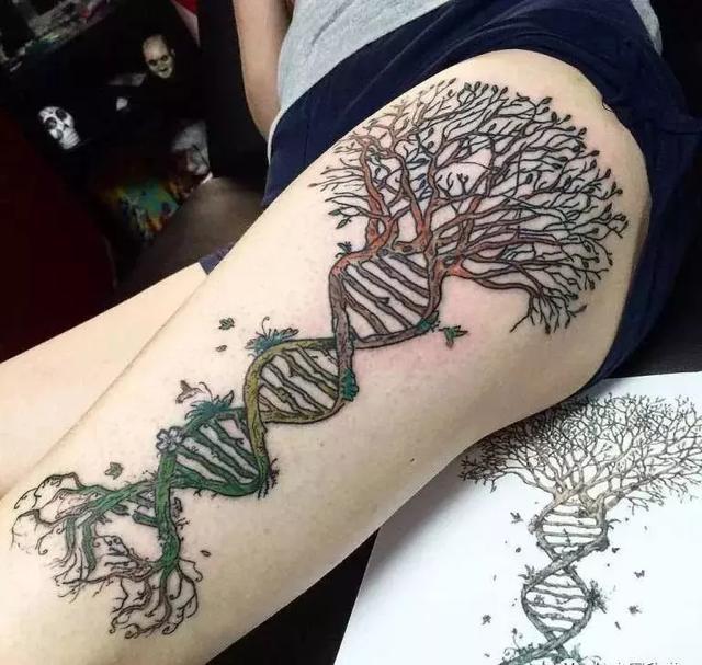 生命树纹身图片手腕分享展示图片图片