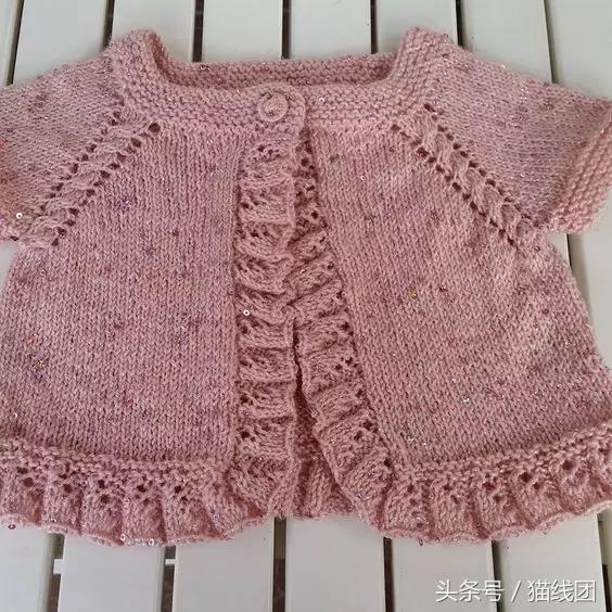 7款宝宝毛衣,连体裤编织图解,巧手宝妈都是这样织的