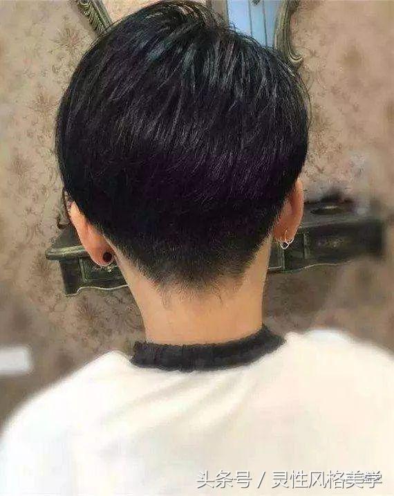 脖子短的适合这样剪短发,显得脖子长还干练时尚哦!