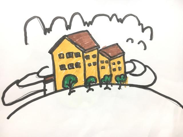 彩色简笔画教小朋友画画儿童简单易学的幼儿美术