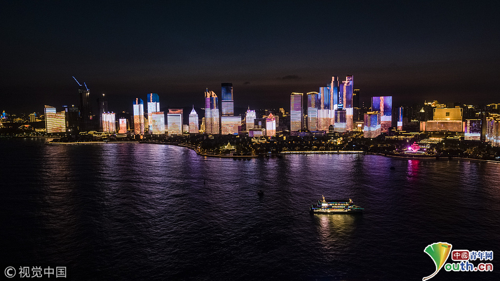 青岛壁纸风景夜景