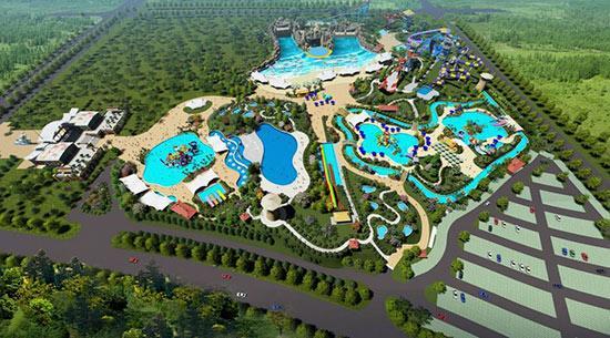 自贡市2018年重大项目——自贡梦幻海螺湾正式开园