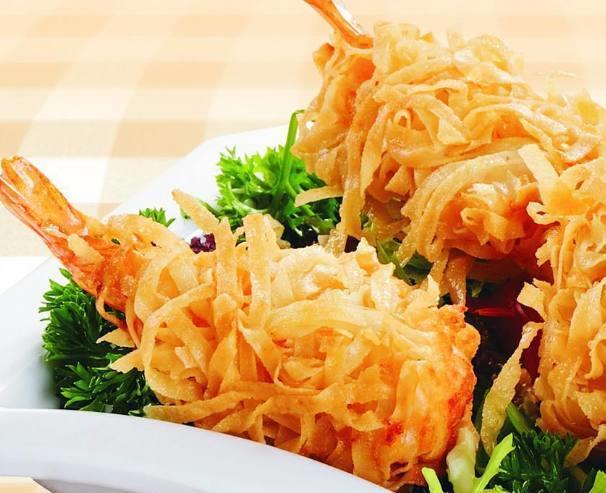 在家就能做的千丝万缕虾,是非常有创意的一道菜