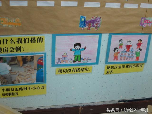 幼儿园环境布置(八十一)幼儿园建筑乐园主题墙饰