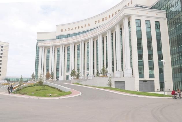纳扎尔巴耶夫大学_阿斯塔纳纳扎尔巴耶夫大学 杨弃非 摄