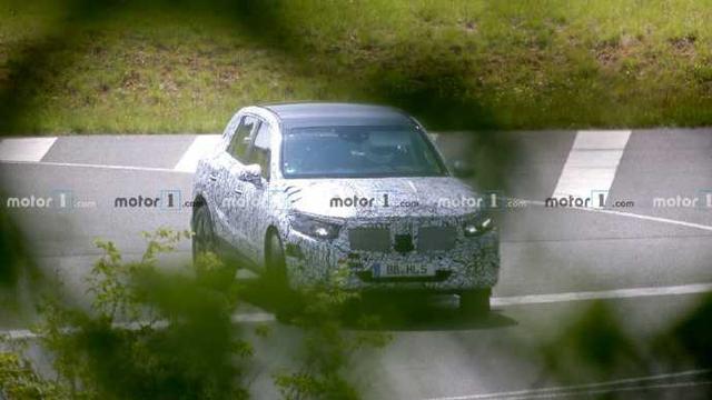 「车与生活」车身更长,有望推出7座版本,全新一代奔驰GLC谍照再曝光