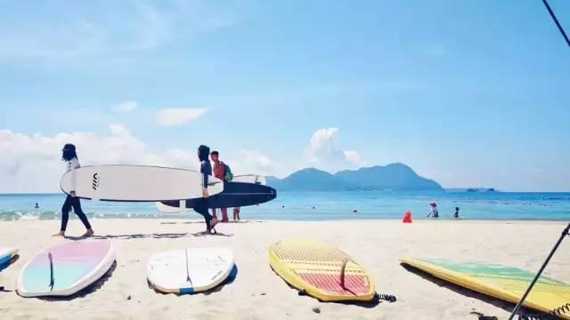 旅行柚子君▲旅行隐世的海滩不需要走远,人少景美,网友:深圳最后一片净土