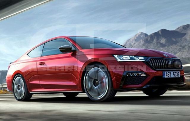 「汽车大咖」斯柯达新明锐RS双门轿跑,造型够运动,车侧确实很好看