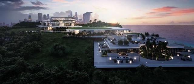 甜到爆表■Minotti 超现代极简虚拟度假酒店