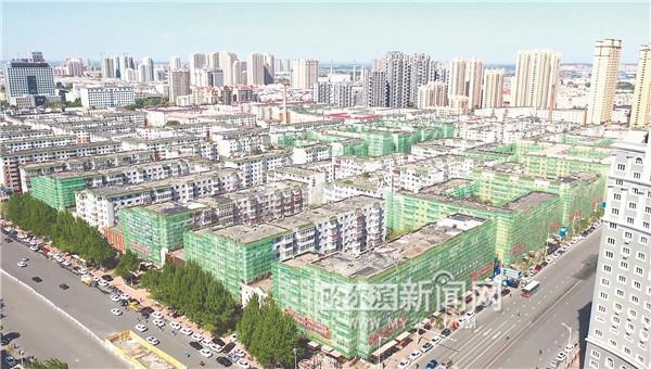 哈尔滨新闻网■老旧小区改造:由里到外大变样