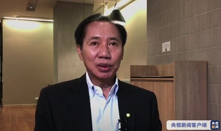 #央视新闻客户端#泰国前国会主席:抗击疫情中国是榜样 反对污名化、政治化