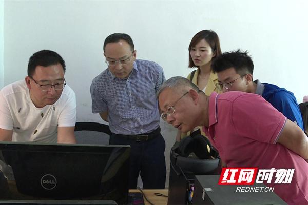 红网常德市委宣传部督导安乡融媒体中心建设工作