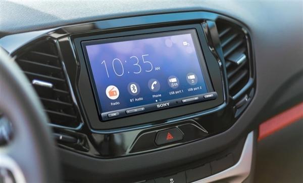「环球网」索尼全新7寸车载中控发布 Android/iOS通吃