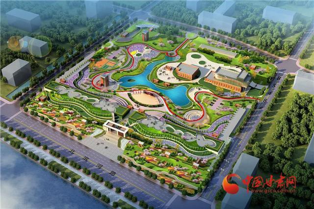 中国甘肃网西北最大地埋式污水处理厂落户兰州 地上建公园为黄河兰州段再添美景