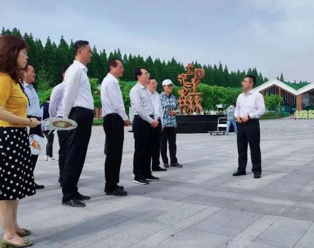 中国江苏网省文旅厅专题调研荷都金湖全域旅游发展