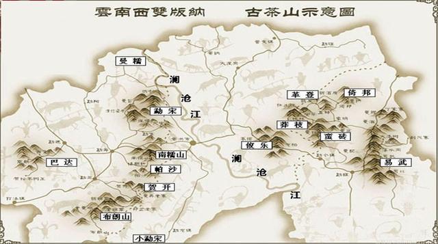 旅行百事通@你知道普洱茶古六大茶山有哪些吗?它们有何特色?