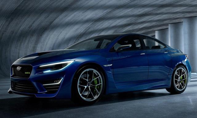 『汽车资讯』基于SGP平台打造 全新斯巴鲁WRX STI或于明年10月发布
