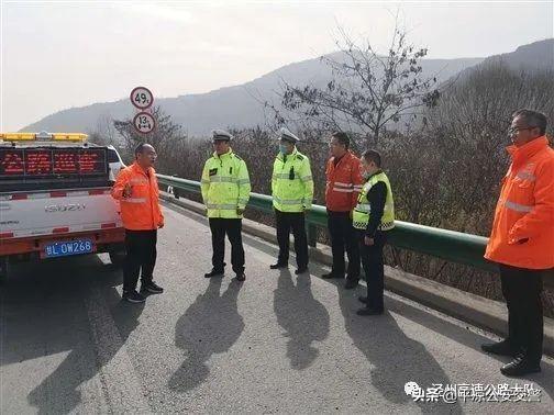 车与生活:泾州高速公路大队认真做好施工安全监管全力护航复工复产