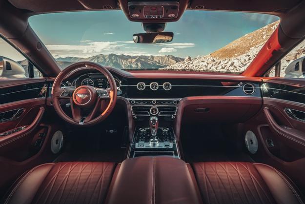 「汽车资讯」宾利全新飞驰公布内饰设计,座舱内缝线长达3公里