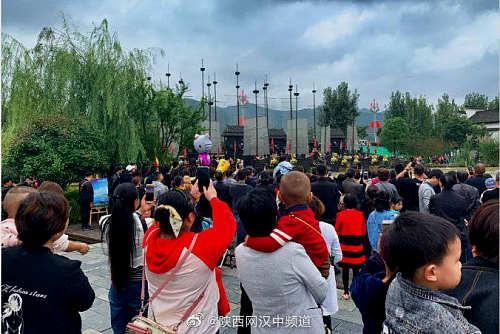 玩乐足迹■2019年汉中接待游客6785.86万人次,实现旅游收入411.88亿元