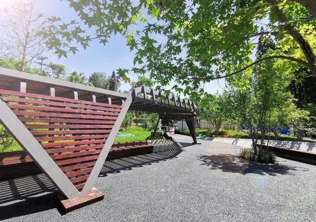 北青社区报石景山版■古风长廊、鸟语花香……永引花林城市公园等你来撩