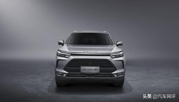 [阿虎汽车]又一款极具科技感的新车型 BEIJING-X7亮相 预售价10-15万