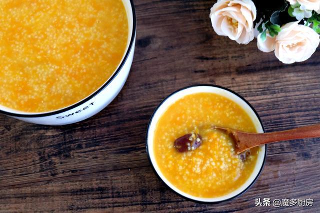 冬季早餐常喝两种粥,做法简单香甜有营养,大人孩子都喜欢