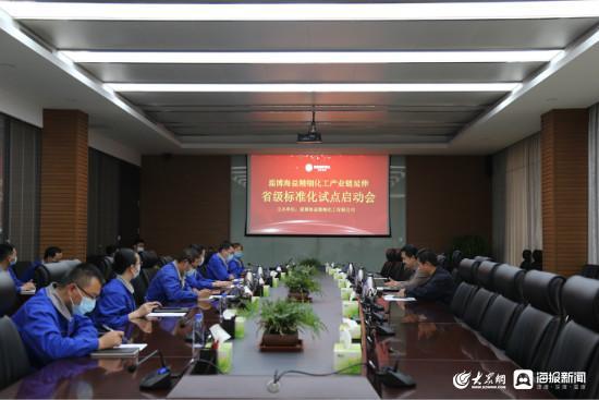 大众网淄博:淄博海益精细化工有限公司召开产业链延伸标准化试点启动会