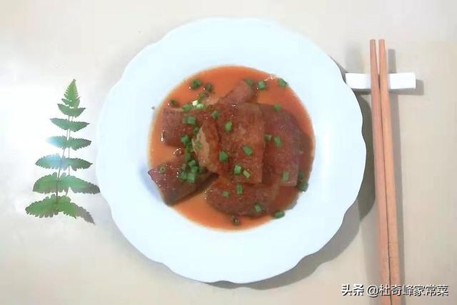 家常菜之红烧肉,炒好糖色是关键,具体步骤看这里