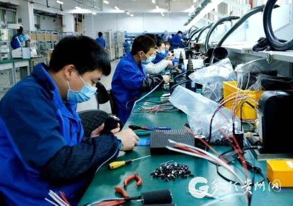 多彩贵州网:贵阳高新区:龙头企业齐头并进 工业经济逆势扬