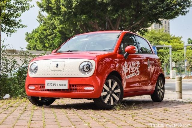 #家有汽车#延续个性造型设计,欧拉R1新增45kW车型,续航或提升