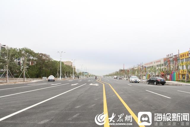 「齐鲁黄河从这里入海」扫尾施工 河口区黄河路东延路段月底具备通车条件