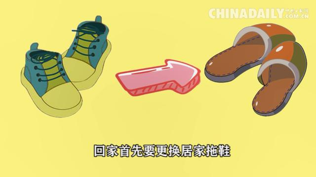 [中国日报网]动画 | 下班做好五件事 病毒不会入家门