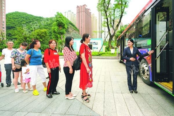 「诗的颈窝」花果园穿梭巴士7月1日试运营
