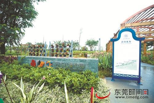 """全国党媒信息公共平台万江儿童公园揭牌 系全市首个示范性""""园中园""""儿童公园"""