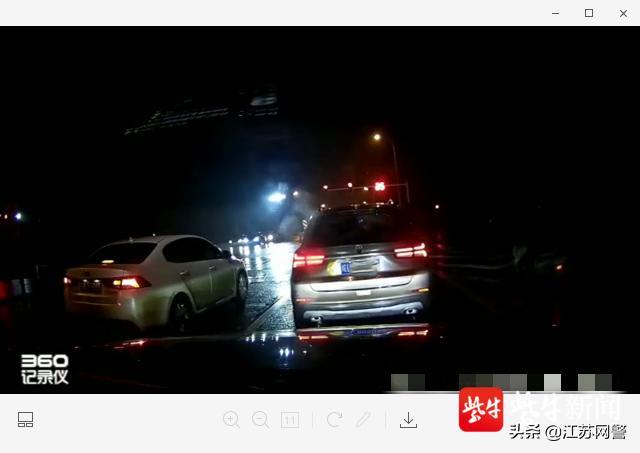#家有汽车#江苏南京:前车倒溜,还是后车追尾?行车记录仪记录下一切