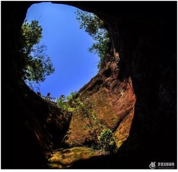 台海网秀丽壮美的福州罗源福源山「组图」