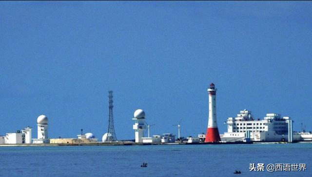 旅行柚子君▲中国赤瓜礁:我国南沙的定海神针,现在建设的如何